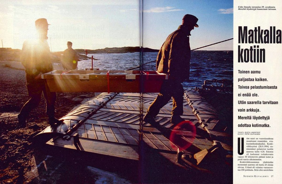 "SK 40/1994 (7.10.1994) Risto Lindstedt: ""Matkalla kotiin"""