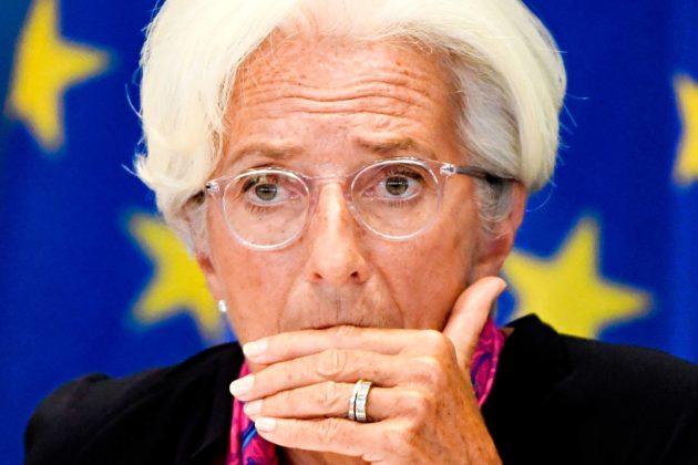 Christine Lagarde seuraa Mario Draghia Euroopan keskuspankin pääjohtajana.