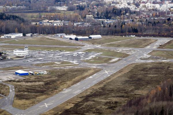 Malmin lentokenttä Helsingissä 28. lokakuuta 2019.