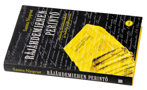 Sanna Nyqvist: Räjähdemiehen perintö. 240 s. Tammi, 2019.
