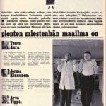 """SK46/1969 (14.11.1969) Rauha Korte: """"Pienten miestenhän maailma on"""""""