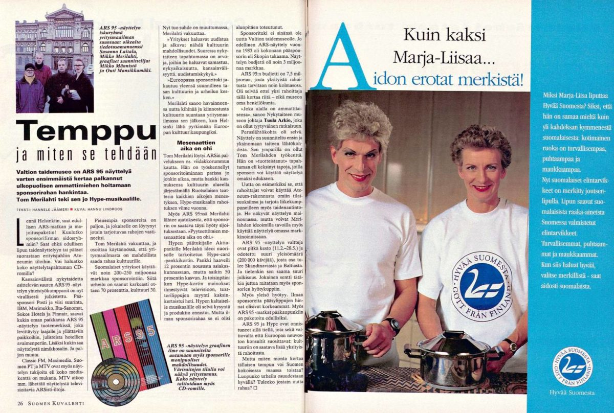 """SK 48/1994 (2.12.1994) Hannele Jäämeri: """"Temppu ja miten se tehdään"""""""