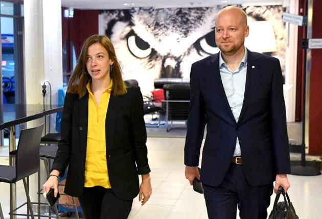 Li Andersson jatkaa vasemmistoliiton johdossa. Jussi Saramo on vahvin ehdokas ensimmäiseksi varapuheenjohtajaksi.