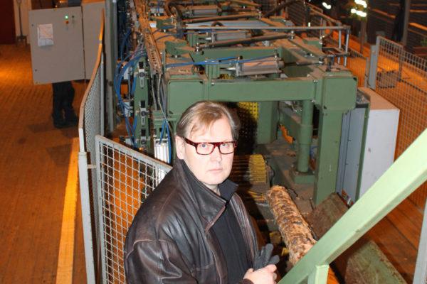 Arktos Groupin hallituksen puheenjohtaja Jaakko Kilpeläinen Kemijärvellä 12. tammikuuta 2012.