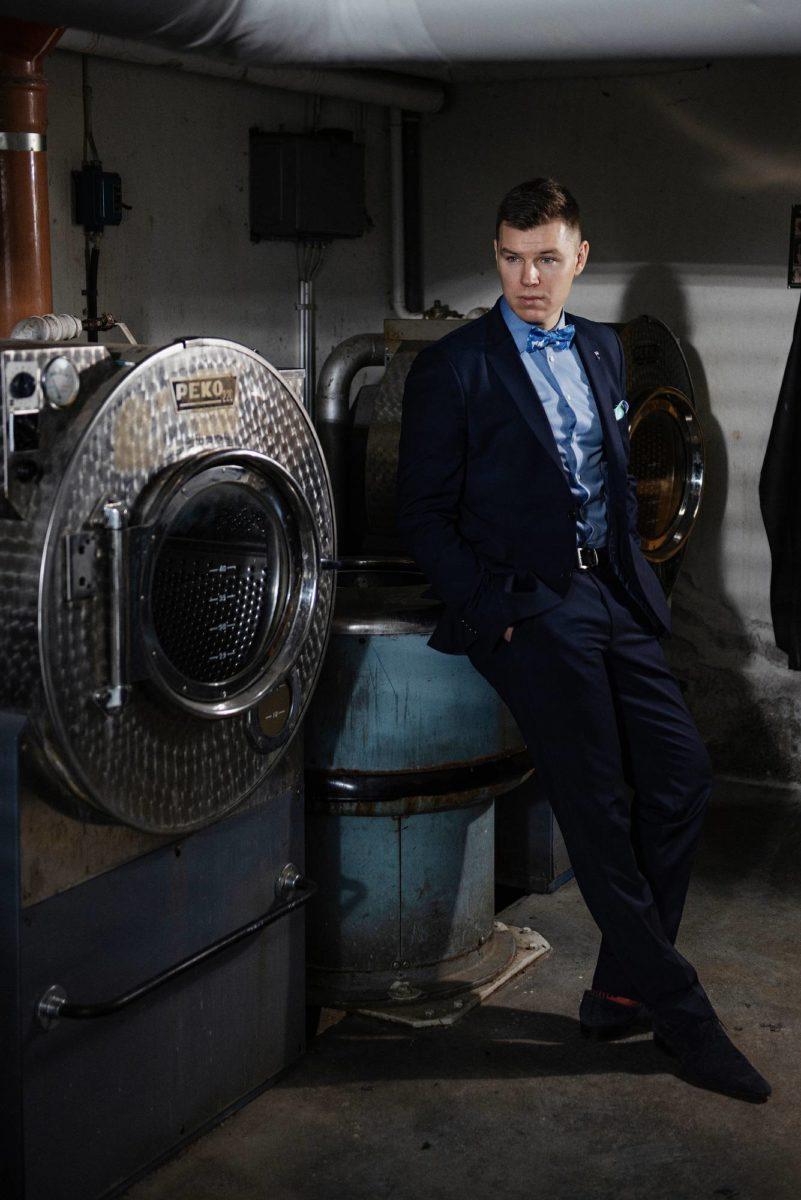 Janne Tamminen on sukkatehtailija neljännessä polvessa.