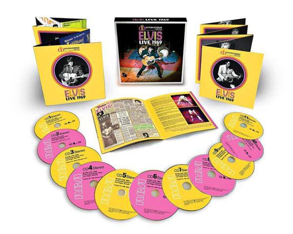 Elvis Presley: Live 1969. 11 cd-levyä. RCA/Sony, 2019.