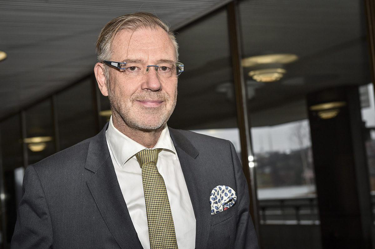 Medialiiton hallituksen puheenjohtaja, mediatalo Keskisuomalaisen konsernijohtaja Vesa-Pekka Kangaskorpi.