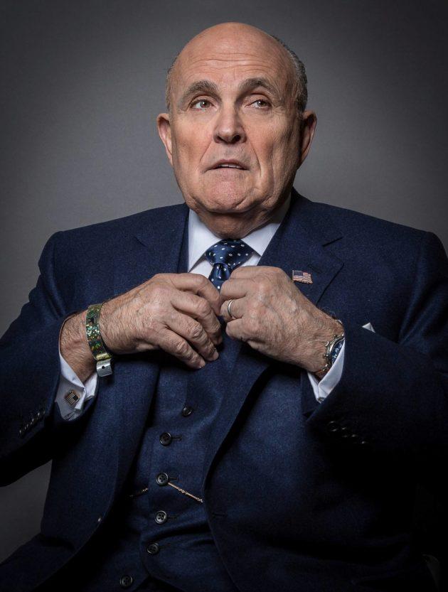 Rudy Giuliani on Trumpin henkilökohtainen lakimies.