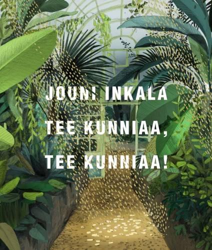 Jouni Inkala: Tee kunniaa, tee kunniaa! 132 s. Siltala, 2019.