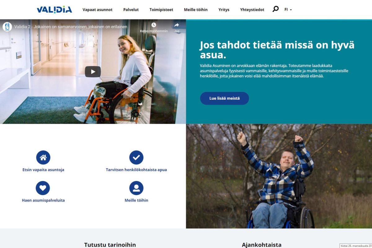 Validia Asuminen toimii ympäri Suomea.