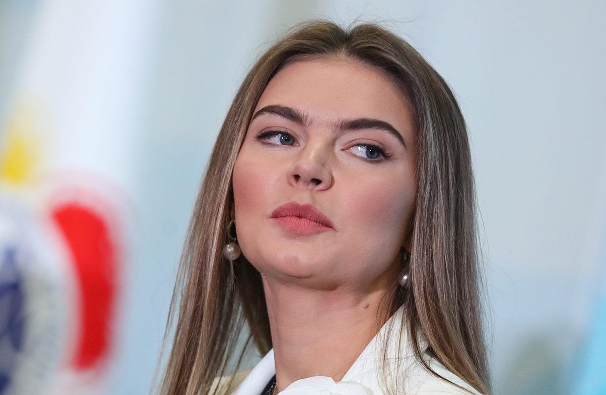 Alina Kabajeva lokakuussa 2017.