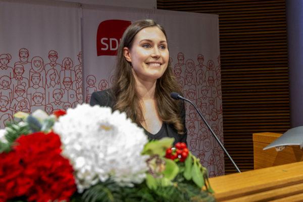 Sanna Marin, 34. Hänestä tulee maailman tämän hetken nuorin ja Suomen kaikkien aikojen nuorin pääministeri.