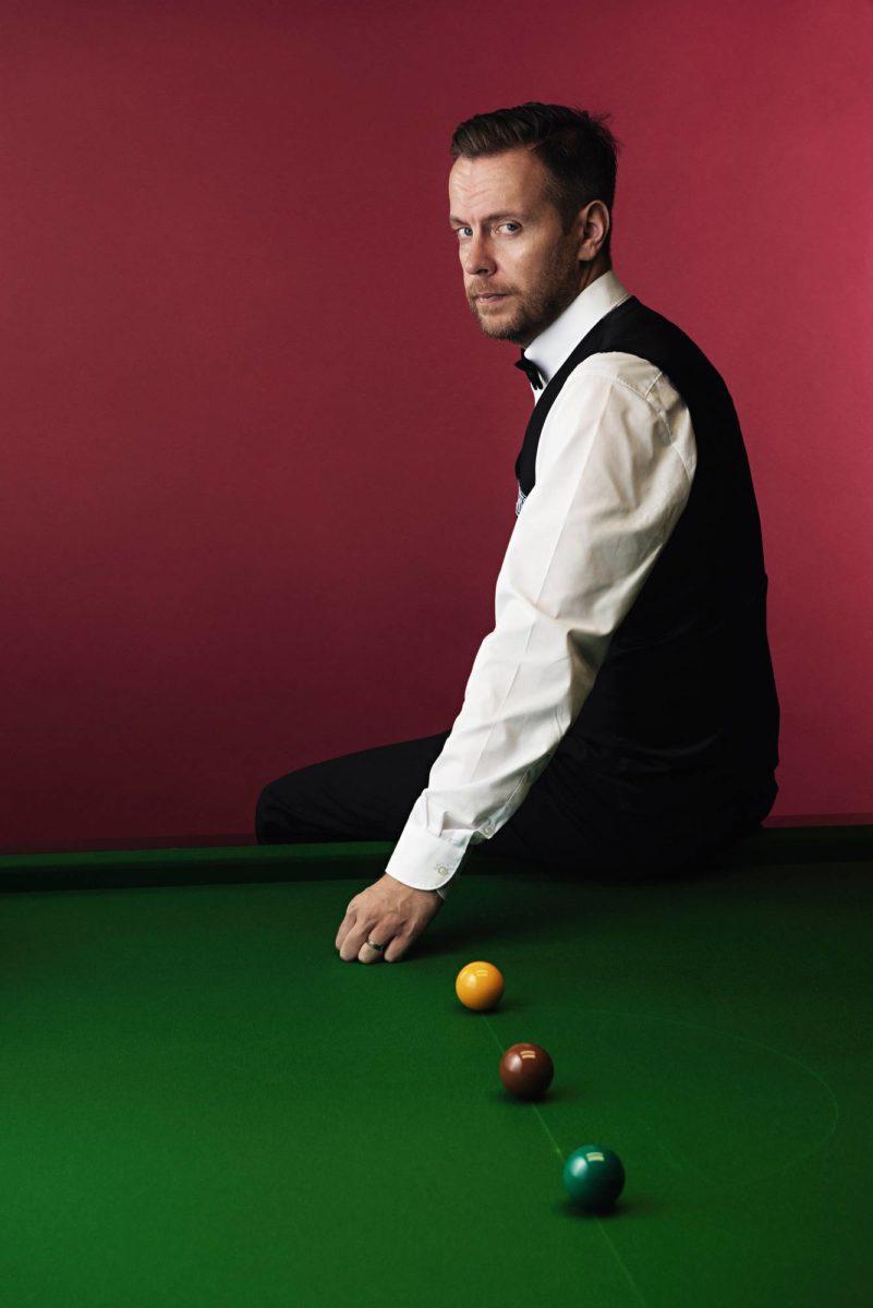 Snookerpelaaja Robin Hull sairastaa dystoniaa, harvinaista aivosairautta.