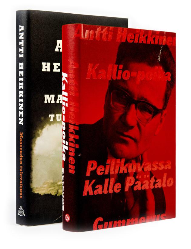 Antti Heikkinen: Kallio-poika. 346 s. Gummerus, 2019. Antti Heikkinen: Maaseudun tulevaisuus. 228 s. WSOY, 2019.