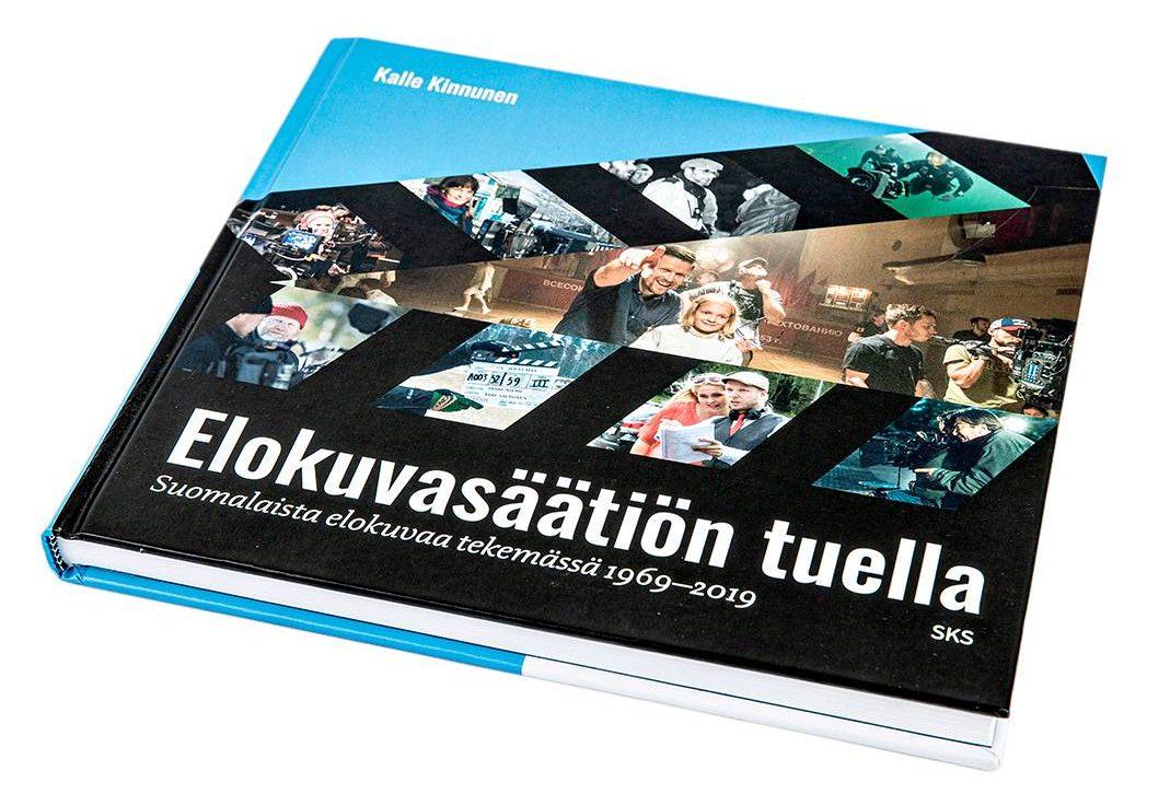 Kalle Kinnunen: Elokuvasäätiön tuella. Suomalaista elokuvaa tekemässä 1969–2019. 156 s. SKS, 2019.