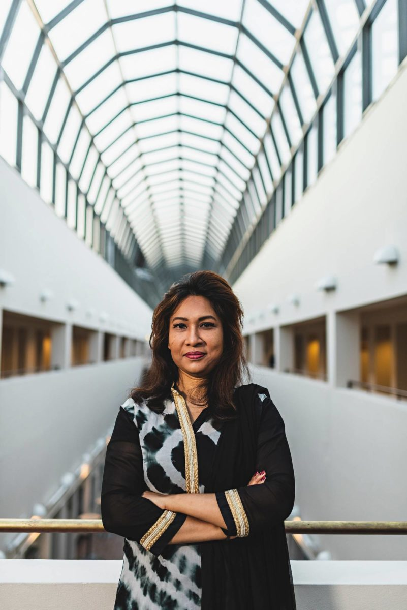 Nafisa Yeasmin on tutkinut maahanmuuttajien sopeutumista Pohjois-Suomeen.