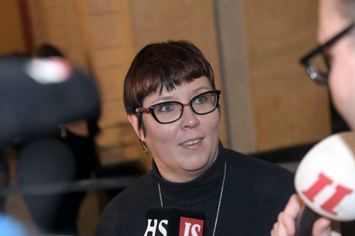 Merja Kyllönen toimi vuoden 2018 vaaleissa vasemmistoliiton presidenttiehdokkaana.