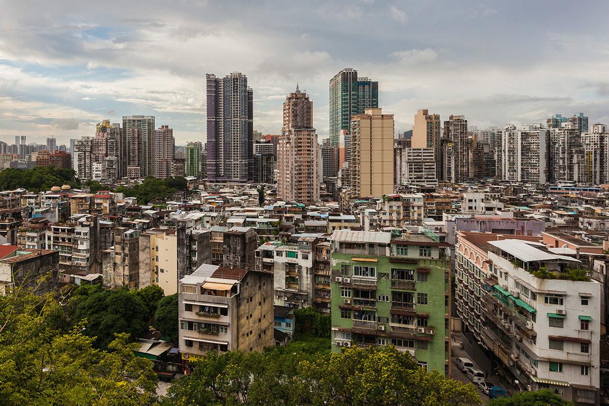 Macao siirtyi Portugalilta Kiinan hallintaan vuonna 1999.