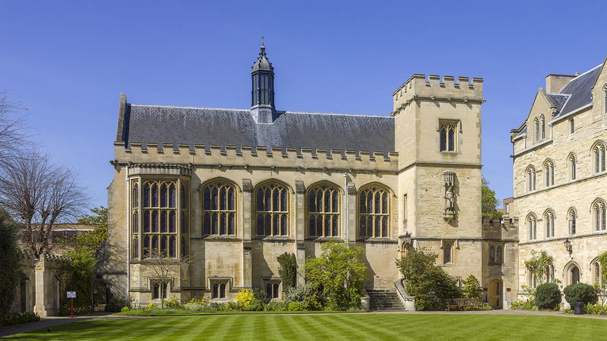Oxfordin yliopiston Pembroke College.