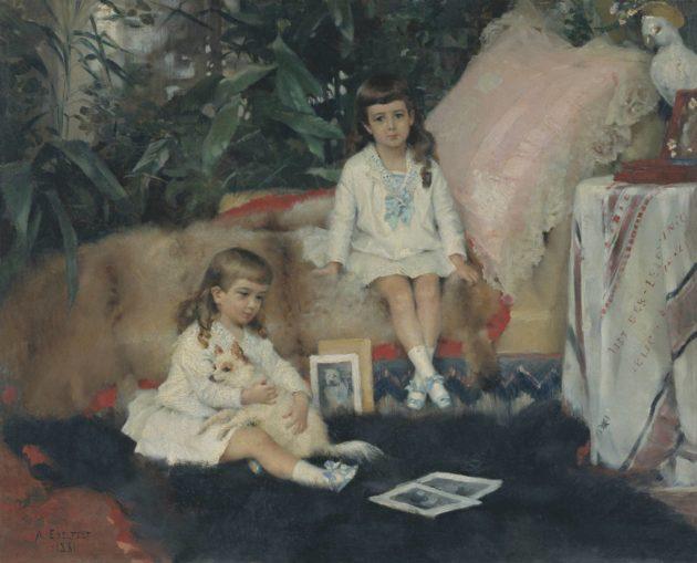 Sani Kontula-Webb tunnisti Edelfeltin teoksesta suuriruhtinas Vladimir Aleksandrovitšin pojat.