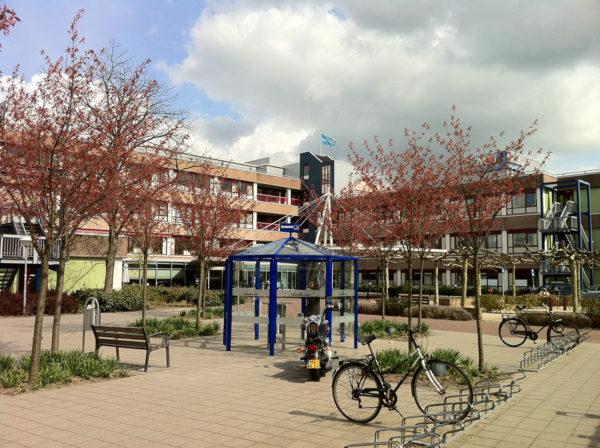 Sairaala Amsterdamissa. Kuvituskuva.