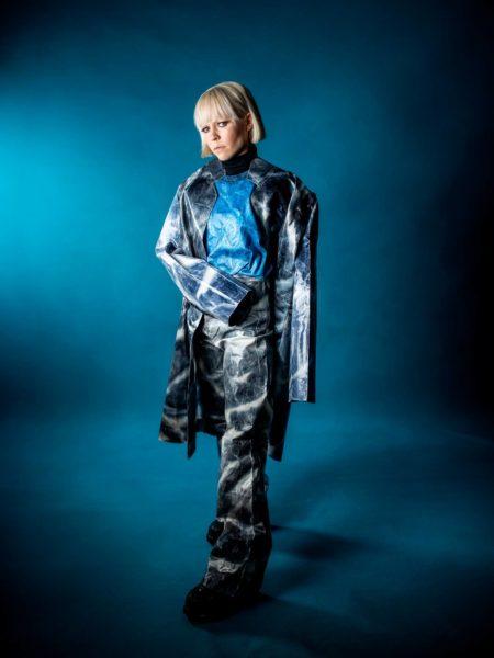 Muusikko ja näyttelijä Paula Vesala.