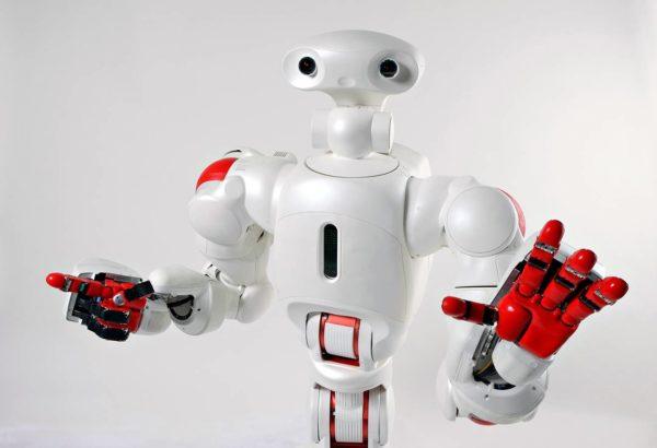 Japanissa kehitetty robotti auttaa sängystä nousemisessa.