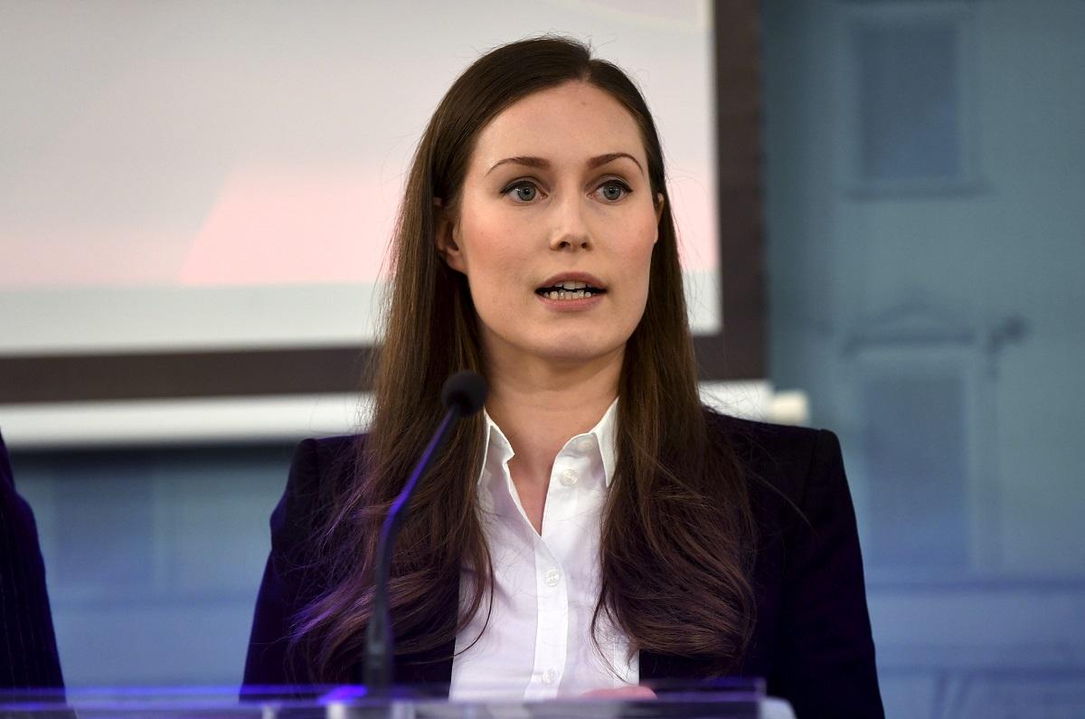 Pääministeri Sanna Marin.