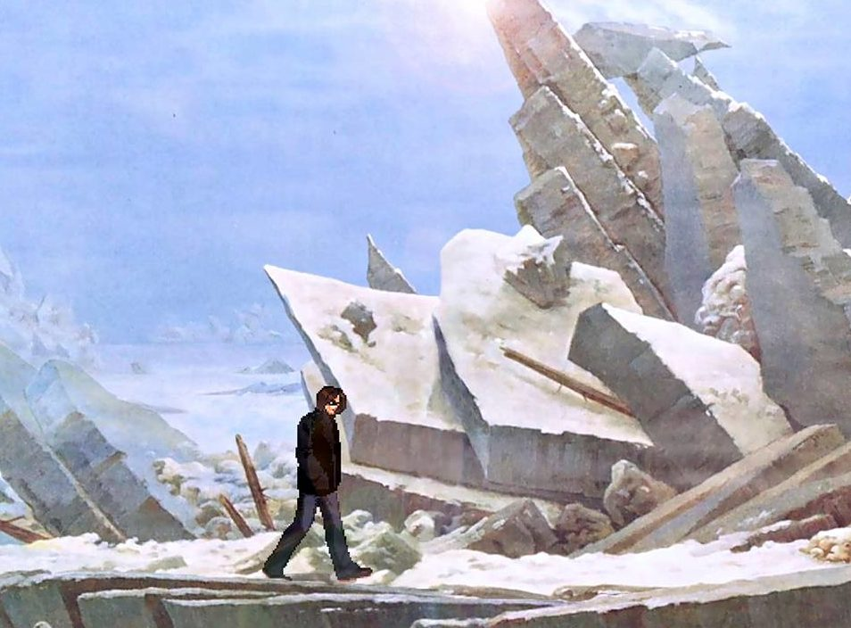 David Blandy: Ice, 2015