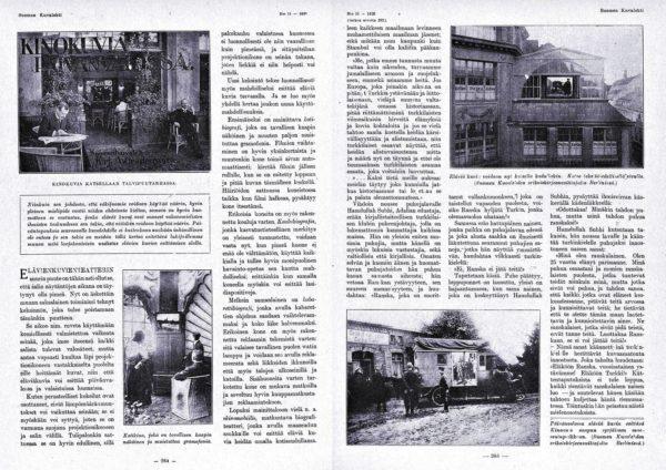 "SK 11/1920 (13.3.1920) A. Gradenwitz: ""Kinokuvia päivänvalossa""."