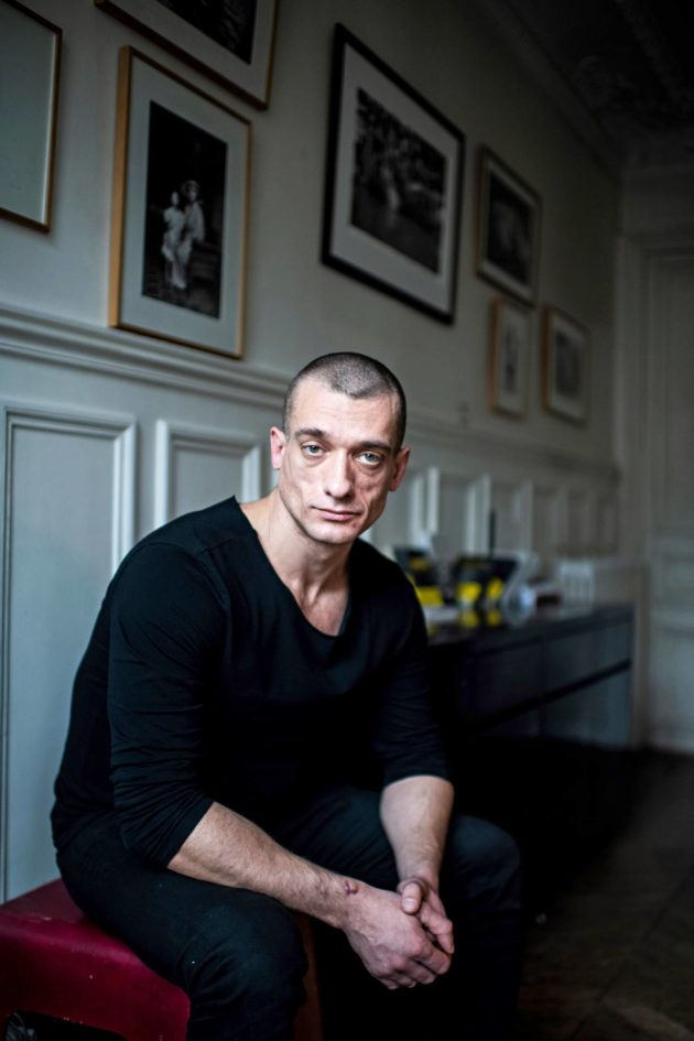 Pjotr Pavlenski helmikuussa 2020.