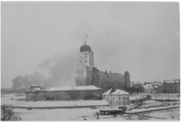 Viipuri paloi talvisodan viime päivinä 7. maaliskuuta 1940.