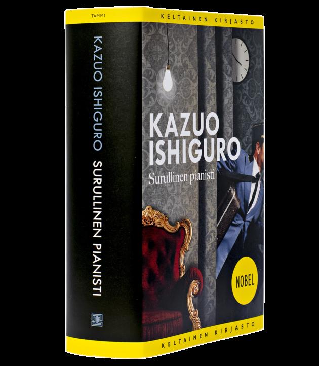 Kazuo Ishiguro: Surullinen pianisti. Suom. Helene Bützow. 658 s. Tammi, 2019.