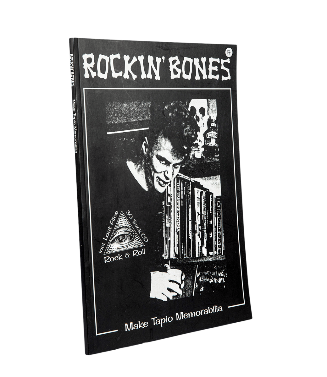 Mikko Aaltonen, Mikko Ranta: Rockin' Bones – Make Tapio Memorabilia. 106 s. + cd-levy. Jungle Records, 2019.