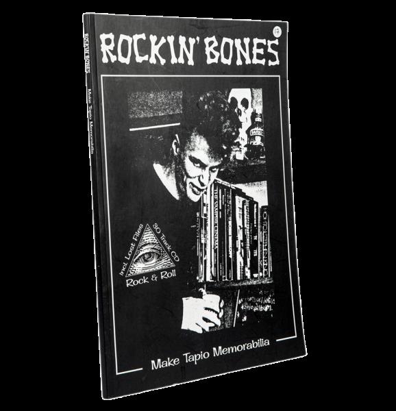 Mikko Aaltonen, Mikko Ranta: Rockin' Bones–Make Tapio Memorabilia. 106 s. + cd-levy. Jungle Records, 2019.