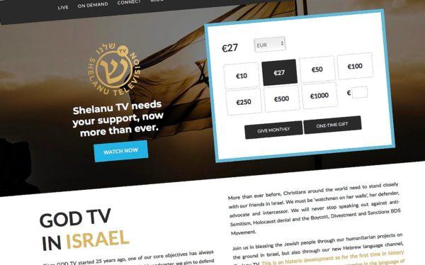 Shelanu TV kerää varoja verkossa.