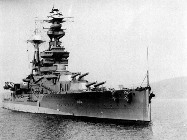 HMS Royal Oak kuvattuna vuonna 1937.