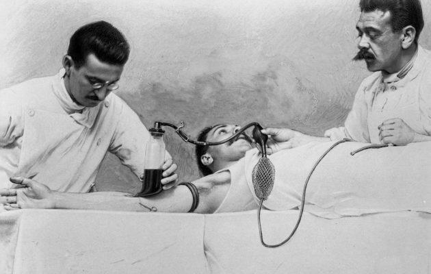 Ensimmäisen maailmansodan aikana keksittiin, että veri ei säilytettäessä hyydy, kun siihen lisätään sitraattia.