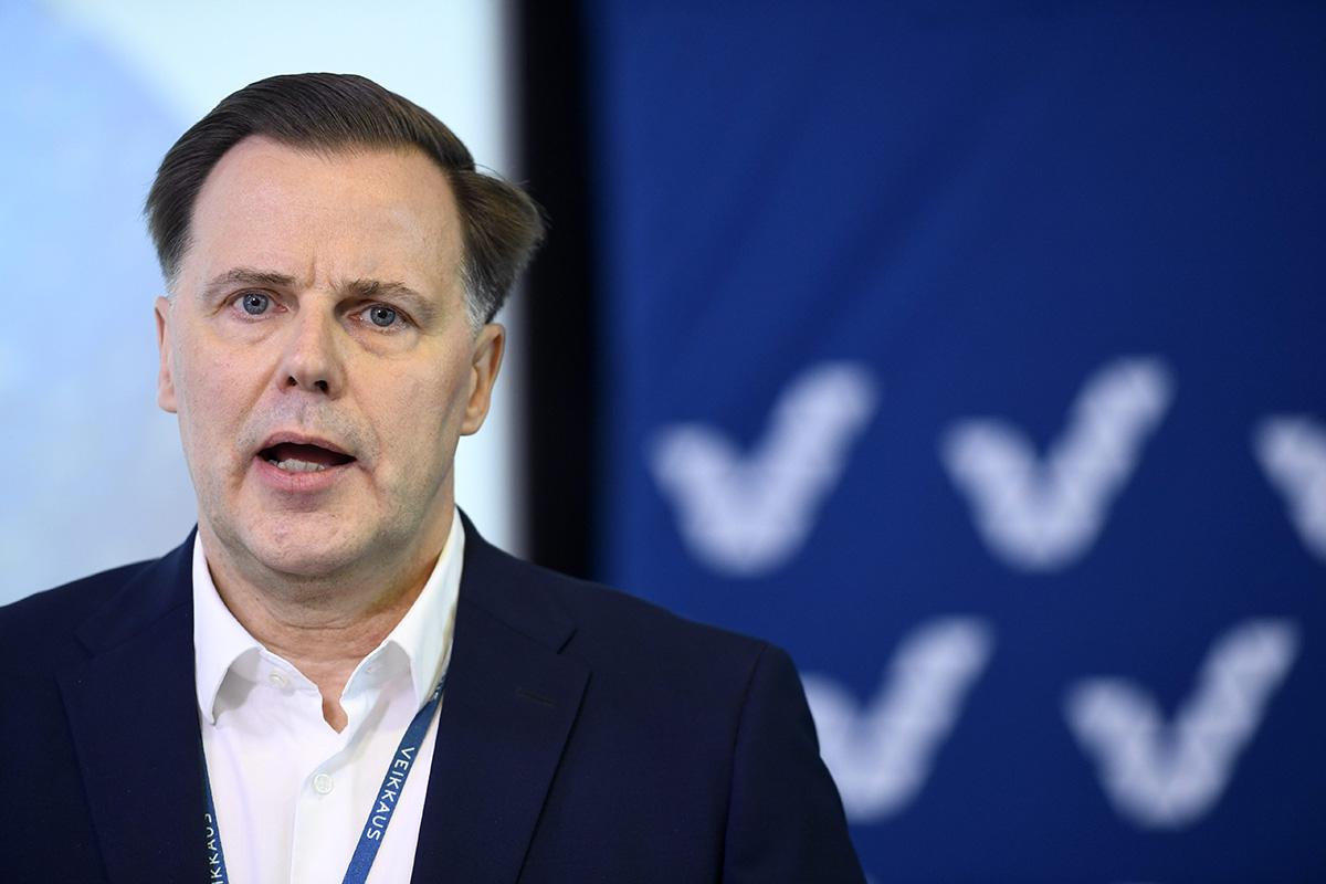 Veikkauksen toimitusjohtaja Olli Sarekoski.