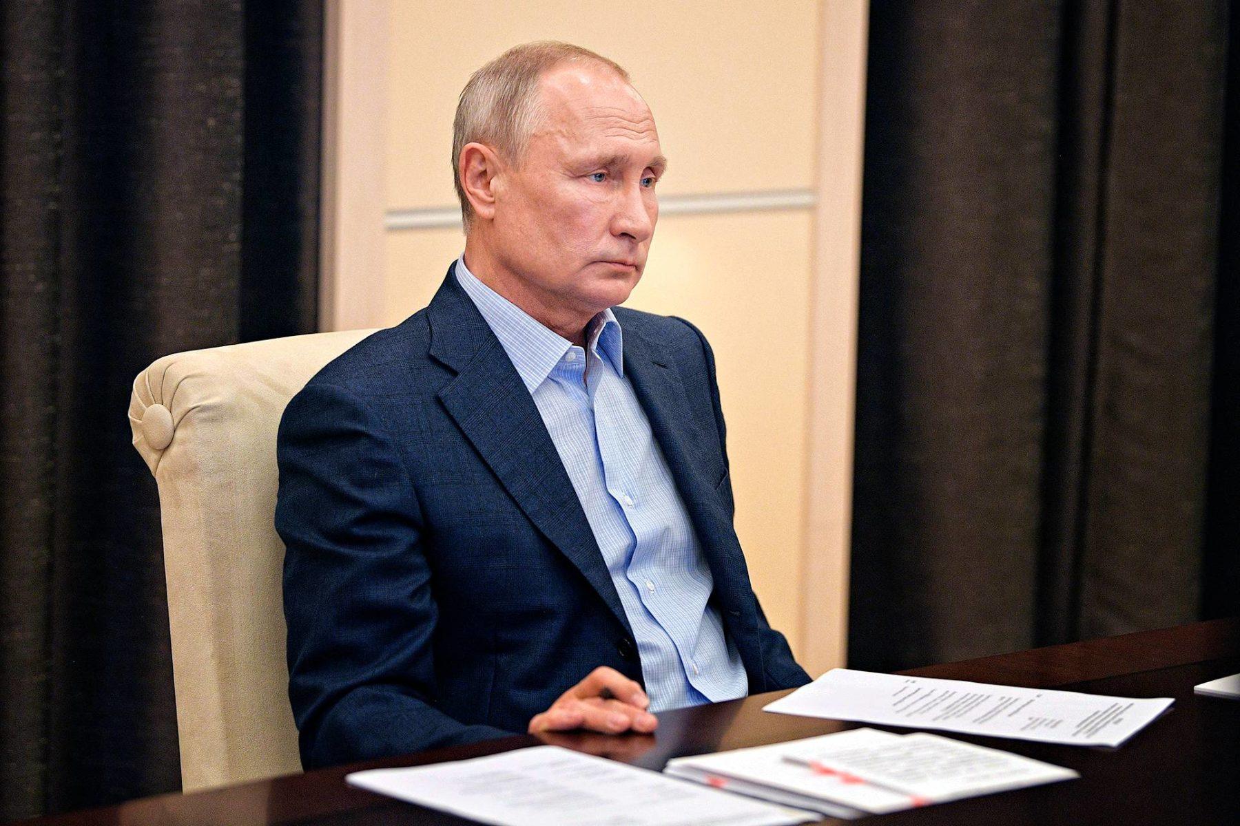 Vladimir Putin, 67, on johtanut Venäjää 20 vuotta.