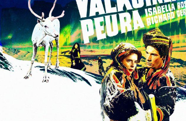 Kotimaisen elokuvan klassikko Valkoinen peura tarjosi Lapin mystiikkaa 1950-luvulla. Mukaelma alkuperäisestä elokuvajulisteesta.