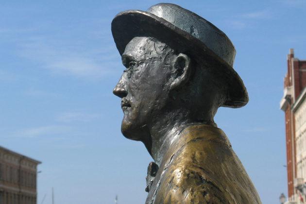 James Joycen patsas Italian Triestessä.