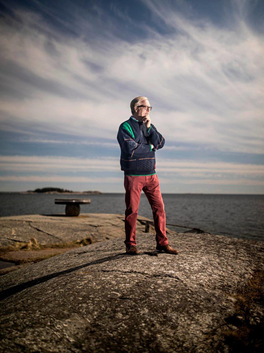 Akavan puheenjohtaja Sture Fjäder on kotoisin Hangosta, ja siellä on yhä hänen kakkoskotinsa.