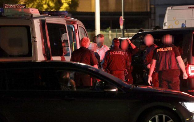 Itävallan poliisi pidätti tšetšenialaisen turvapaikanhakijan ampumisesta epäillyn miehen Linzissä 4. heinäkuuta.
