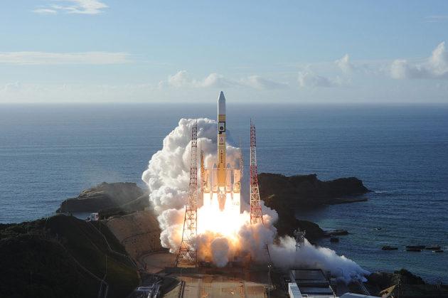 Arabiemiraattien Mars-luotain laukaistiin Japanista paikallista aikaa 20. heinäkuuta.