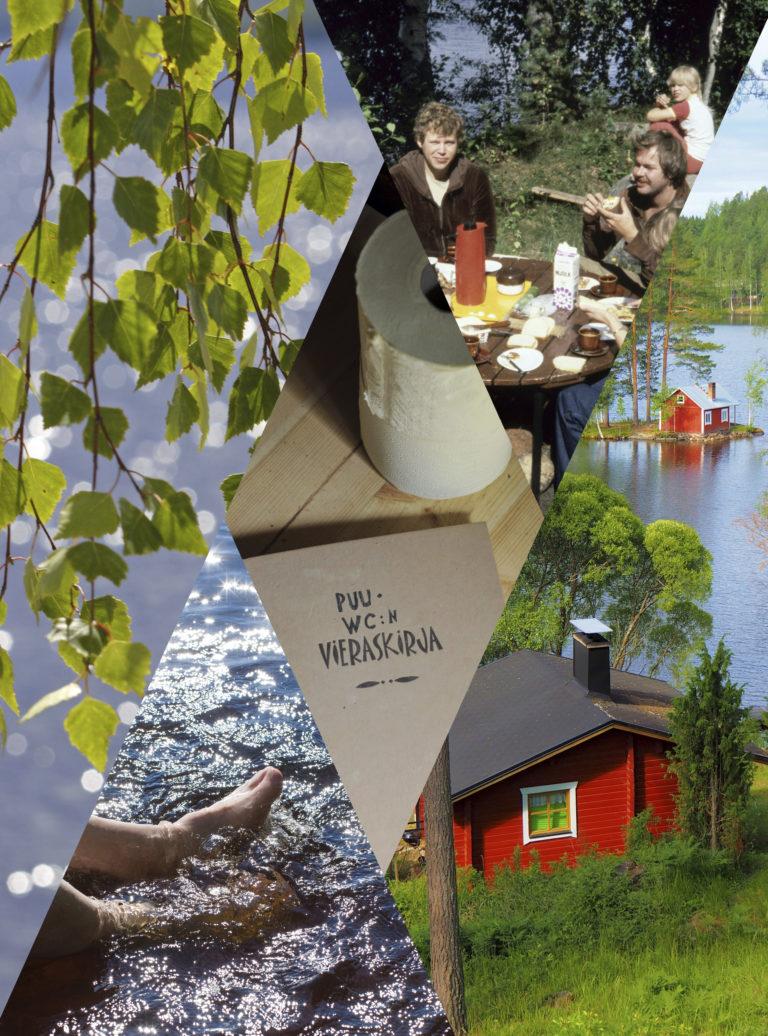 Suomalaisen mökkielämän peruselementit järvi, sauna, huussi ja nostalgia toistuvat aikakauslehtien mökkikuvissa vuodesta toiseen.