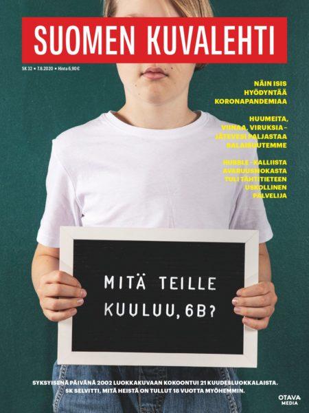 Viikon lehti 32/2020 - kansi