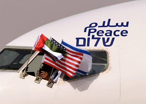 Israelin ja Arabiemiraattien välinen lentoliikenne avattiin elokuun lopussa.