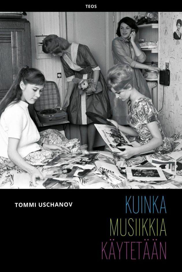 Kirjan kansi vie 1960-luvulle.