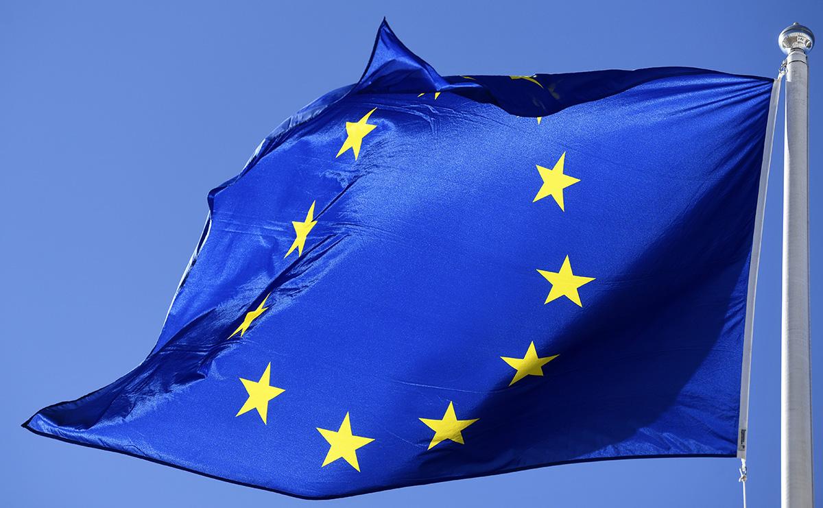 EU-lippu. Kuvituskuva.